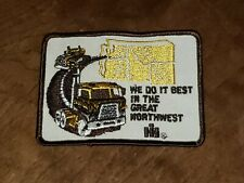 Vintage International Harvester Ih We Do It Best in Northwest Semi Truck Patch