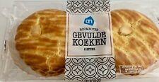 (9,99€/kg) 3x 6 Gefüllte Kuchen mit Marzipan Mandel Gevulde Koeken 3x400g 1,2kg
