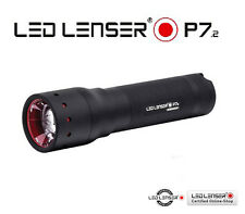 LED LENSER P7.2 320 lumens Flashlight Torch Linterna Antorcha