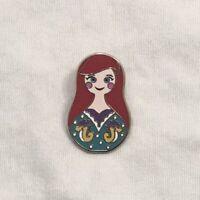 1 Disney Pin Nesting Dolls Mystery Pin Set Mini Pin Pack Ariel Little Mermaid