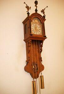 """Star Glocke - SAANLANDER Friesen Uhr, mit Mondphase """"WUBA"""" Glocke, Bim-Bom (11t)"""