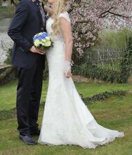 Brautkleid Hochzeitskleid Kleid Weiß mit Spitze Mori Lee Mermaid Trompete