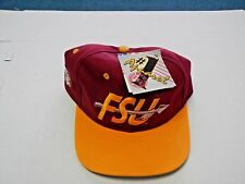 Florida State University Fitted Baseball Hat By #1 Apparel Size 7 3/8