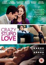 CRAZY STUPID LOVE      BRAND NEW SEALED GENUINE UK DVD