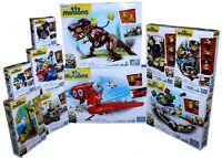 Minion Mega Bloks Sets Kevin Stuart Bob Purple Minion Mini Figures Despicable Me