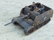 Roco Minitanks Pro Painted WWII German Grille 88MM SP Anti Aircraft Lot #2437B