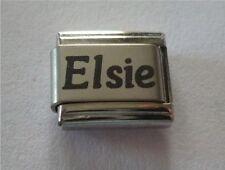 9mm Classic Size Italian Charms Charm Names Name Elsie