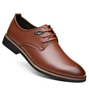 Zapatos De Cuero De Marca De Lujo Para Hombre Calzado De Negocios Elegante Moda