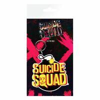 DC Suicide Squad Bomb Logo Flexible Keyring Keychain - Joker Harley Comics