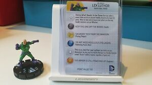 Wizkids DC Heroclix Justice League Trinity War 210 Lex Luthor Common With Card
