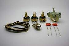 Fender Stratocaster super wiring kit Orange drop capacitors & CRL 5 way selector