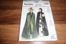 BURDA-PLUS Schnittmuster 2521          2x  GOTHIC CAPE mit KAPUZE          34-50