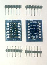 4 channel Bi-Directional Logic Level Converter Min Vtg 3.3V and Max Vtg 5V