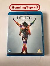 This is It, Michael Jackson Blu Ray, Supplied by Gaming Squad