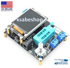 Mega328 GM328B English Assembled Transistor Tester LCR Diode Capacitance ESR