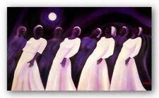 Moonlight Spiritual S/N Bernard Stanley Hoyes African American Art Print 22x32
