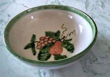 """Vintage John B Taylor """"Harvest"""" Salad / Pasta Serving Bowl 11"""" Fruit Design sign"""