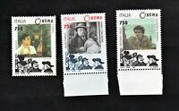 francobollo italia 1996 - Scene di film del cinema italiano troisi fabbrizi seri