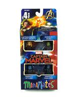 Marvel Minimates Captain Marvel Movie Box Set Flight Jacket Nuro Minn-Erva New