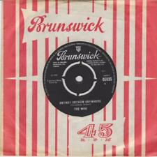 THE WHO Anyway anyhow anywhere / Daddy rolling stone Brunswick 05935 Classic mod