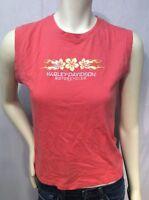 Harley Davidson Womens Size L Large Sleeveless T Shirt Surdyke  Festus Missouri