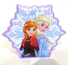 Disney Frozen Coin Bank Ceramic Double Sided Snowflake