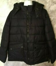 Nautica Navy Puffy Jacket With Removable Hood, Size 1xl, Nwt
