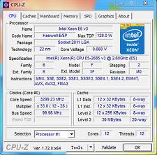 Intel Xeon E5-2685 v3 QS QGJK(=E5-2690 v3) LGA2011-3 12C Compatible X99 i7-6950X