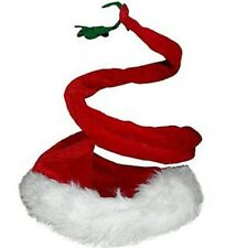 Curly Santa Hat with Mistletoe 364474