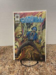 1994 VALIANT COMICS SHADOWMAN #0 RARE HTF GOLD VARIANT CHROMIUM COVER NM