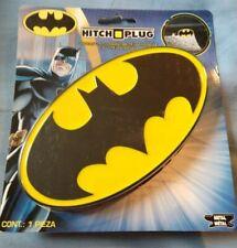 DC Comics Batman Logo Die Cast Metal Tow Hitch Plug Cover for Truck SUV New