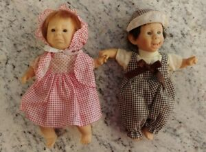"""Two Palm Pals Bean Bag Kids Funny Face Expressions DOLL 8"""""""