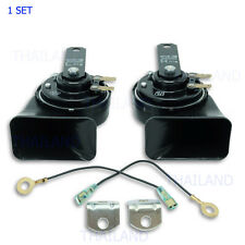 Electric Horn Denso Black For Toyota Nissan Ford Mitsubishi Mazda 2000 - 2017