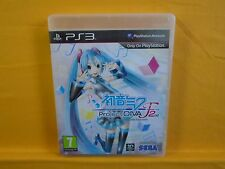 ps3 HATSUNE MIKU PROJECT DIVA F 2nd Playstation PAL UK ENGLISH Version