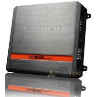 Alphasonik 2 Channel Amplifier 1000 Watts Max Venum Series Class A/B V500.2