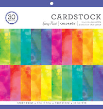 "Colorbok Spray Paint Cardstock Paper Pad, 12"" x 12"""