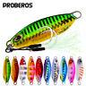 5pcs/set Jigging Fishing Lures Spoons Vertical Bait Metal Fishing Jigs Lead Fish