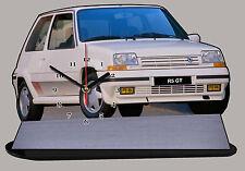 RENAULT 5 GT TURBO, R5GT TURBO,  Reloj en modela miniatura, -09