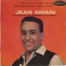 45TRS VINYL 7''/ RARE FRENCH EP JEAN AMANI / OUI, C'EST TOI + 3