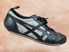 Onitsuka Tiger LA84 Vintage Fencing Shoe Size 11.5 Mens Black Leather HN522