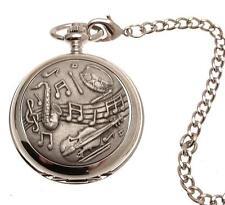 Pocket watch Musical design quartz mechanism