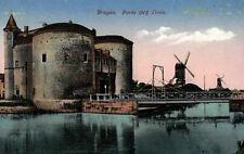 16870/ Foto AK, Brügge, Porte St, Croix, 1915