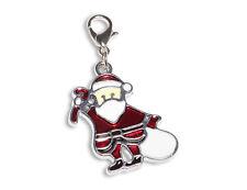 Enez Anhänger Dangle Charms Charm Weihnachtsmann (2,5 x 2,0cm) r2020