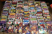 Massive Collection Of 72 Marvel Comic Books