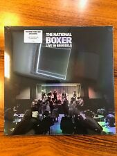 The National - The Boxer Live in Brussels RSD 2018 Clear Vinyl LP