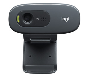 Logitech C270 HD Webcam Web Cam Kamera 720p Windows PC Mikrofon 30 fps Camera