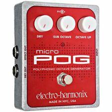 Effektgerät E-Gitarre Electro Harmonix Micro POG Polyphon Octaver Effektgerät Ef