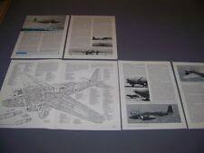 VINTAGE..MITSUBISHI KI.21 BOMBER..CUTAWAY/3-VIEWS/SPECS..RARE! (147F)
