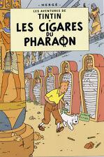 POSTCARD Hergé ADVENTURES OF TINTIN, Les Cigares du Pharaon