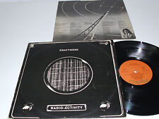 KRAFTWERK Radio-Activity - 1975 SPAIN LP - krautrock RARE